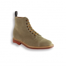 Dirty Buck Suede Toe Cap Boot - Red Rubber Ridgeway Sole