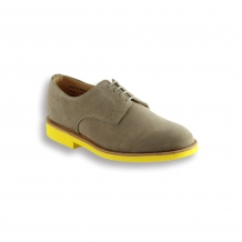 Ladies Dirty Buck Suede Plain Buck - Yellow Brick Sole
