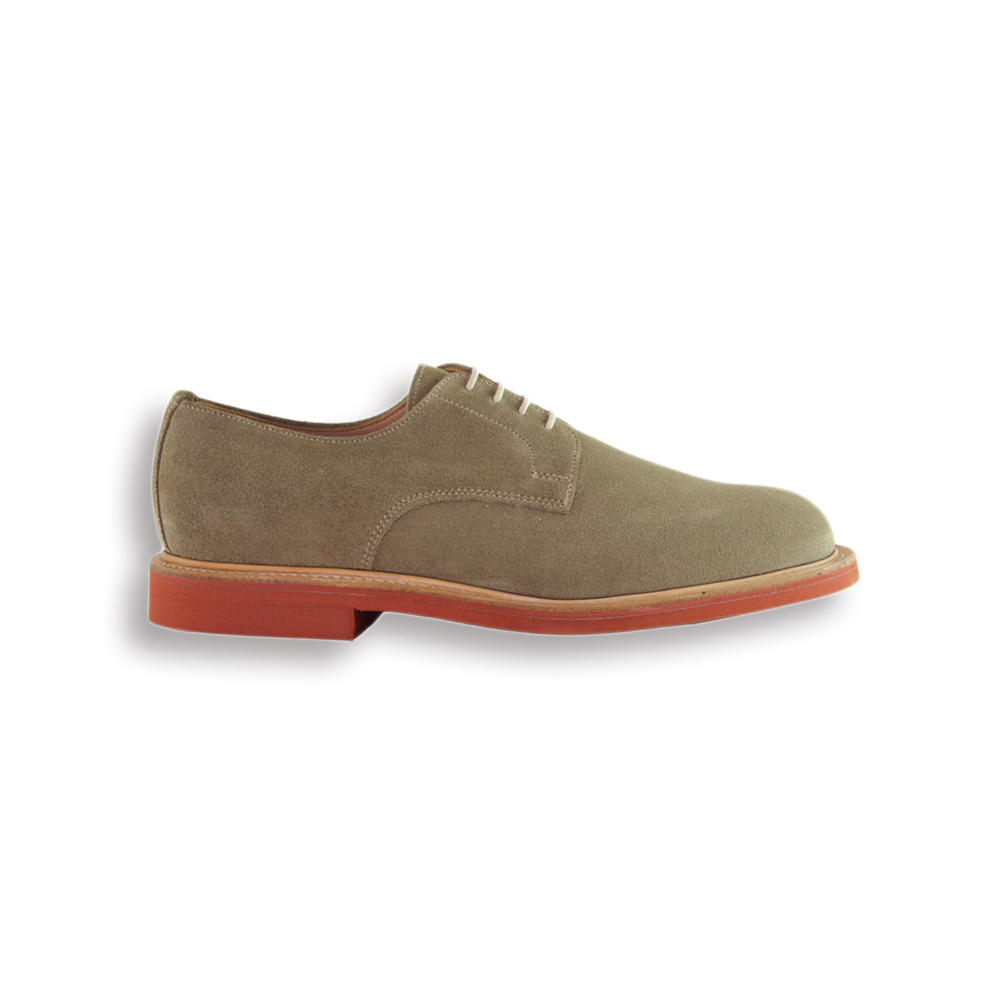 Dirty Buck Suede Plain Buck - Red Brick Sole