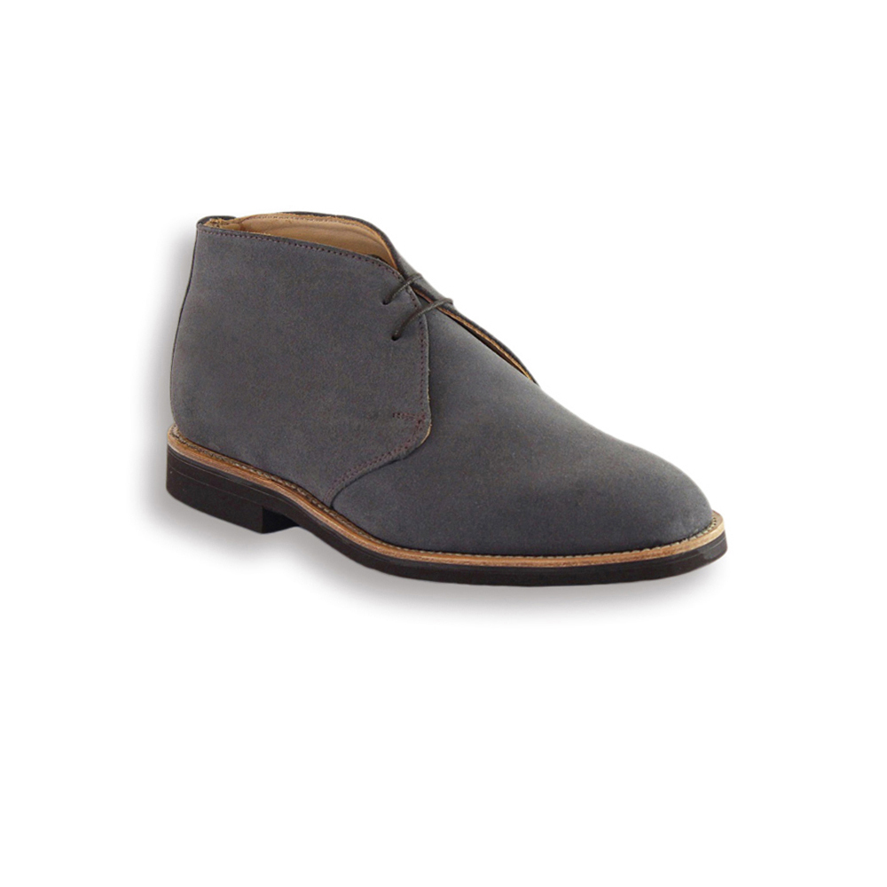 Mark McNairy | Grey Chukka | Mens Grey Suede Chukka Boot | Mark ...