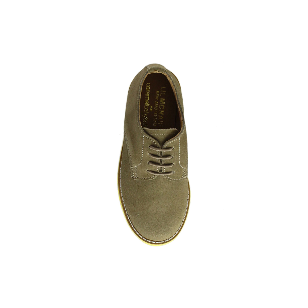 Kids Dirty Buck Suede Plain Buck - Yellow Brick Sole